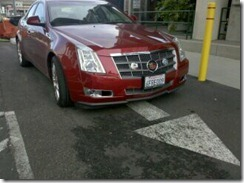Caddy front