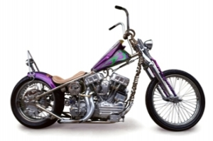 If you watch the Biker Build-off series you know Indian Larry and his